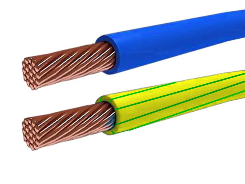 Провода многожильные изолированные и голые что